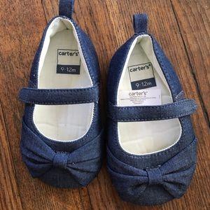 Carters soft bottom shoes